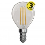 LED žárovka Filament Mini Globe A++ 4W E14 neut...